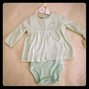 CARTERS BODYSUIT FOR BABY NEW